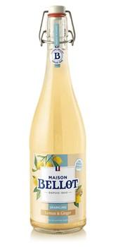 Lemonad m. citron och ingefära