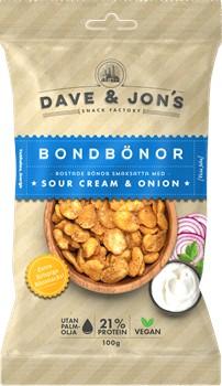 Rostade Bondbönor Sourcream & Onion