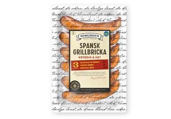 Spansk grillbricka