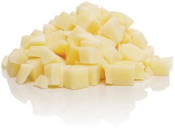 Potatis tärnad 10 mm