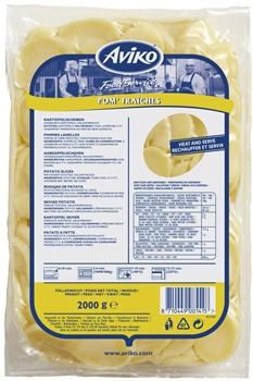 Förkokt skivad potatis 7 mm