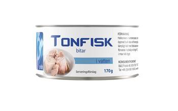 Tonfisk i vatten bit