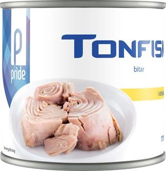 Tonfisk bitar i olja