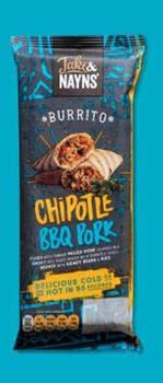 J&N Pulled Pork Burrito