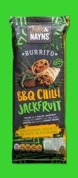 J&N Bbq Chilli Jackfruit Burrito