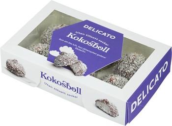 delicato kokosboll utan socker