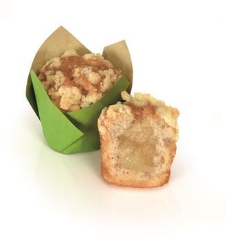 Muffins Mini Äpple/Kanel, Fylld