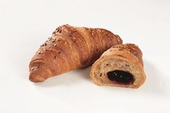 Croissant Vegan Blåbær