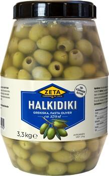 Halkidiki urkärnade oliver
