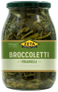 Broccoletti alla Napoletana