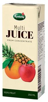 Multi Juice portion med sugrör