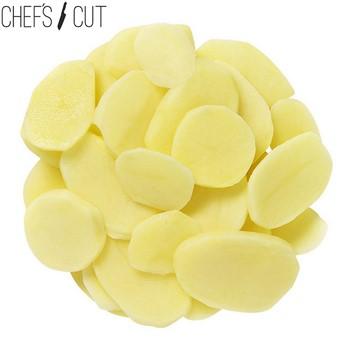 Potatis skivad förkokt