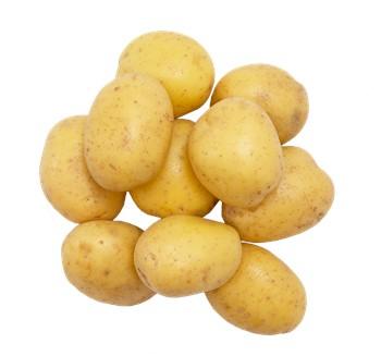Potatis borstad delikatess förkokt