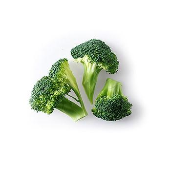 Broccolibuketter rustik