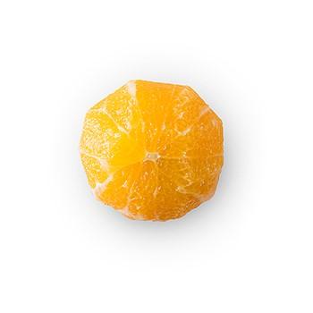 Apelsin skalad hel