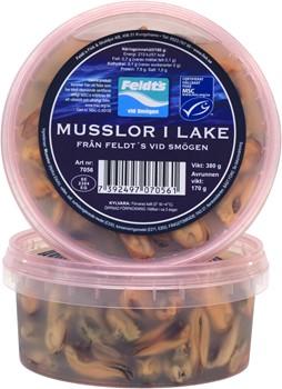 Musslor i lake, (MSC)