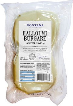 Halloumiburgare (10x75g)