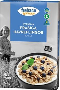Svenska Frasiga Havreflingor Blåbär