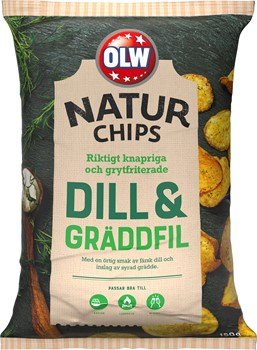 Naturchips Dill & Gräddfil
