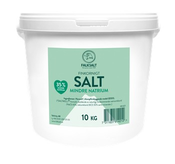 Salt Mindre Natrium