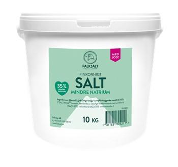 Salt Mindre Natrium m jod