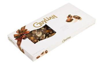 belgisk choklad snäckor