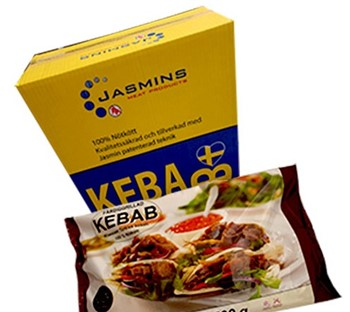 Jasmin Sverige Kebab Färdiggrillad