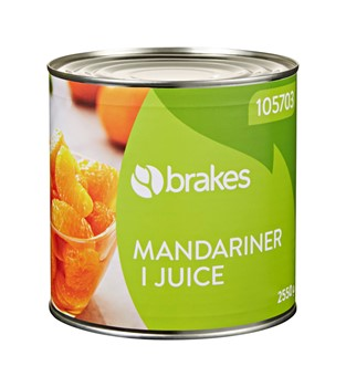 Mandarinklyftor i juice