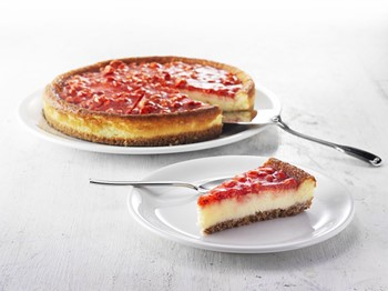 Cheesecake jordgubb