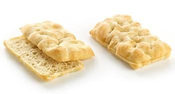 Tuscan flat bread pre-sliced
