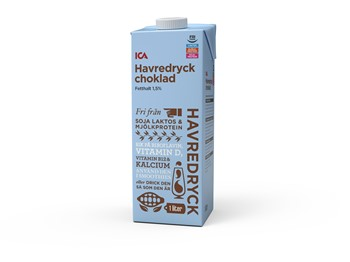oatly havredryck choklad