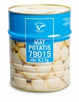 Konserverad Matpotatis