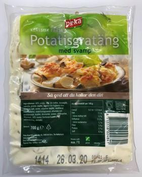 peka potatisgratäng glutenfri