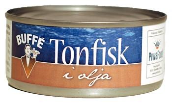 Tonfisk i bit Olja