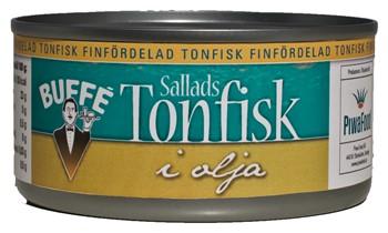 Tonfisk Olja Flakes