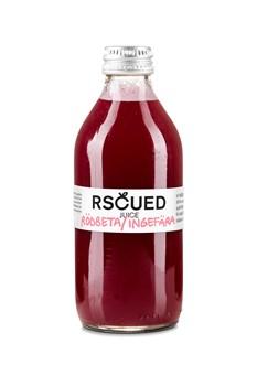 Räddad rödbets- och ingefärsjuice