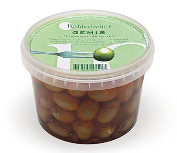 Gemis fetaostfyllda oliver