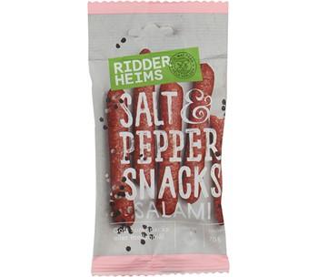 Snacks Salami Salt & Pepper