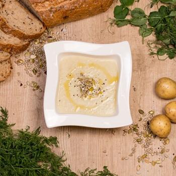 Potatis & Purjolökssoppa Sous Vide