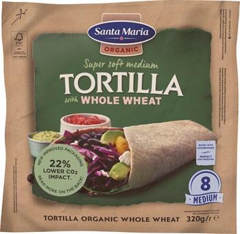 Tortilla Organic Whole Wheat