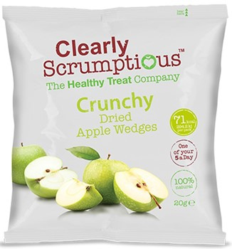 Crunchy Dried Apple Wedges
