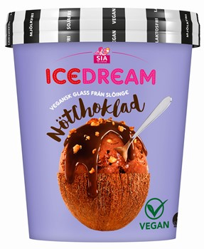 Vegan Ice Dream NötChoklad