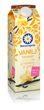 Vaniljyoghurt 2,5%