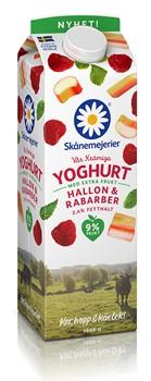 Fruktyoghurt Hallon & Rabarber