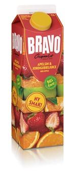 Juice Apelsin/Jordgubb med äpple