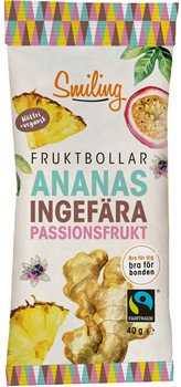 Fruktbollar Ananas/Ingefära/Passion