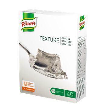 Texture, gelatin