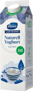 Laktosfri Ekologisk Yogh Nat 2,5%